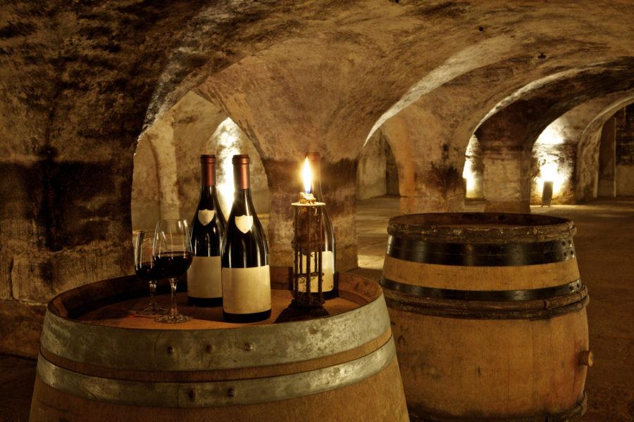 casier à vin en pierre