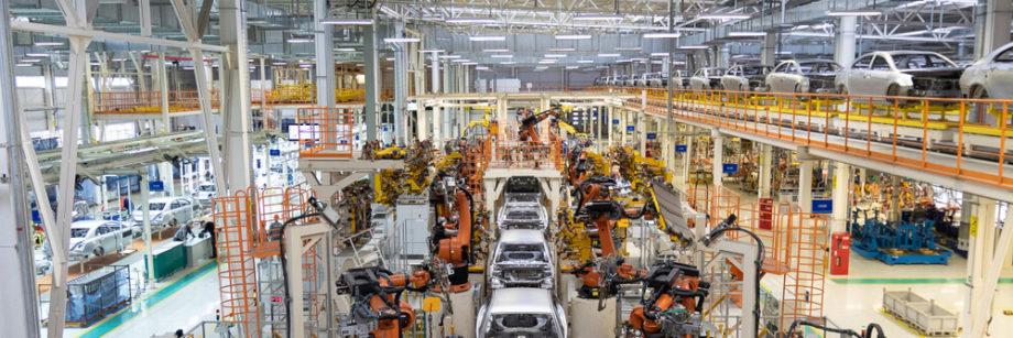le verrou electromagnétique peut-être utilisé sur les chaînes de montage automobile